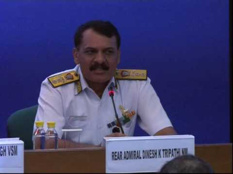 Rear Admiral Dinesh K Tripathi, NM, Assistant Chief of Naval Staff (P&P), India speaks on the indigenisation in the Indian Navy