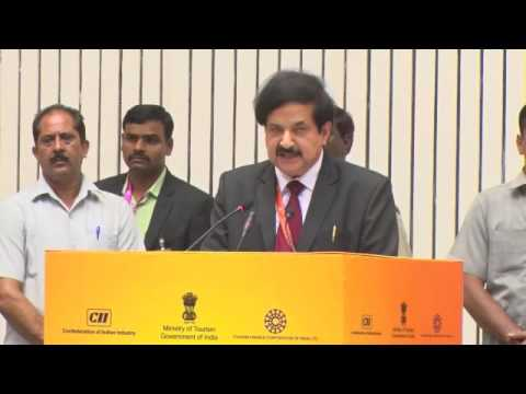 Vinod Zutshi, Secretary, Ministry of Tourism, GoI highlights the objective of the Incredible India Tourism Investors' Summit 2016