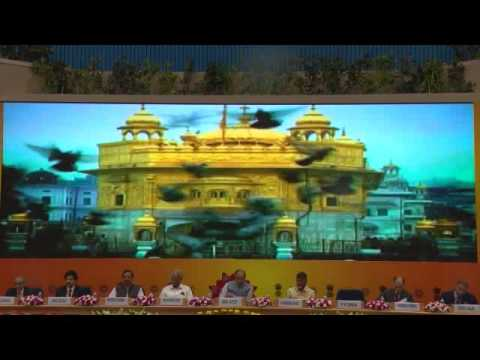 """""""Indian is awesome"""" movie screened at the Incredible India Tourism Investors' Summit 2016"""