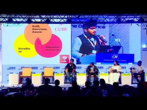 Padmanaban Gopalan, Founder, No Food Waste highlights the real value of food