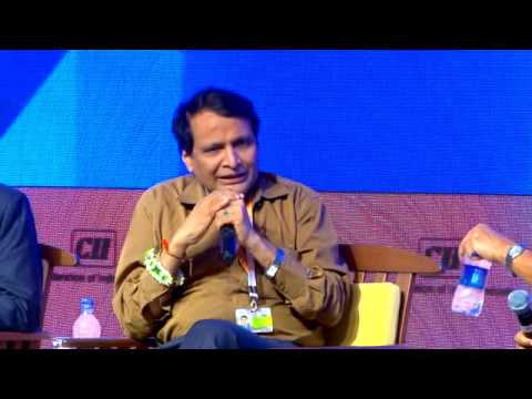 Interaction between Suresh Prabhu, Railway Minister and Shekhar Gupta, Founder & Editor-in-Chief, The Print