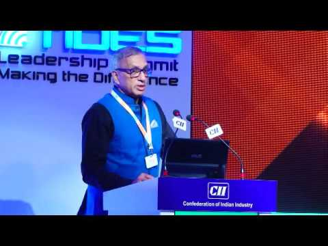 Ravi Sam, Chairman MD, Adwaith Lakshmi Industries Ltd highlights the purpose of the TIDES Leadership Summit