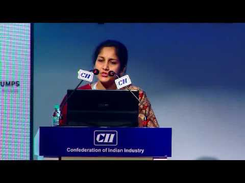 Welcome Address by Nethra J S Kumar, Chairperson - CII Coimbatore Zone & CMD, Lakshmi Electrical Control Systems Ltd
