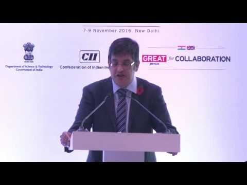 Bobby Mukherjee, Chief Counsel- IP and Technology Law, BAE Systems speaks on IP at BAE ...