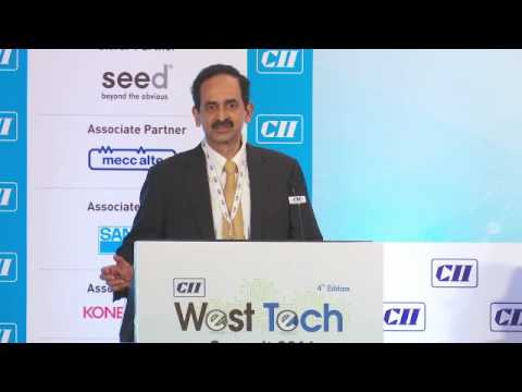 Sanjay Kirloskar, Chairman, CII West Tech Summit 2016 speaks on strengthening India's position at the technology and innovation frontier