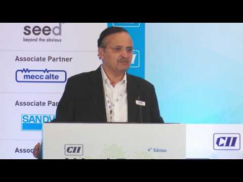 Shishir Joshipura, Chairman, CII Pune Zonal Council speaks on the convergence of technology and innovation