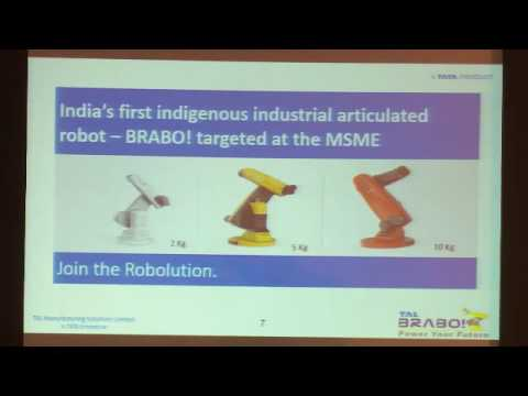 Rajesh Khatri, Executive Director & CEO, TAL Manufacturing Solutions speaks on robotics