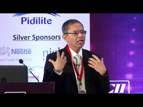 Prasun Basu, President-South Asia, Nielsen presents an overview of the global and Indian FMCG sector
