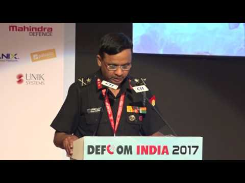 Vote of Thanks by Maj Gen Milind N Bhurke, VSM, ADC Tac C, Corps of Signals, Indian Army