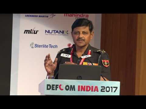 Maj Gen R K Choudhary, VSM, CSO Northern Command, Indian Army speaks on Network Support for Net Centricity