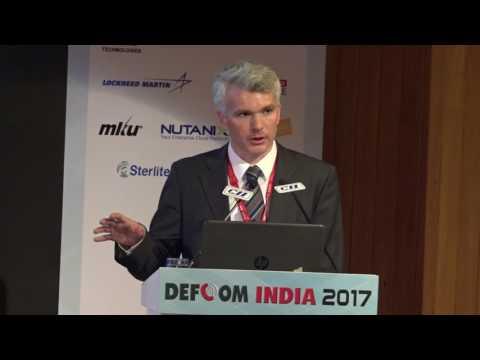 Dr Andreas Boyd Buchin, Rohde & Schwarz speaks on MANET Technology