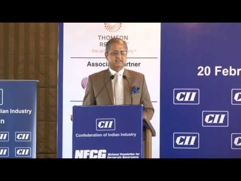 Welcome Address by Ninad Karpe, Deputy Chairman, CII Western Region