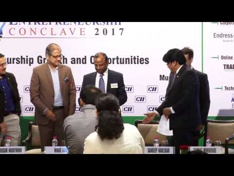 Release of Report on Entrepreneurship Growth and Opportunities at the CII Entrepreneurship Conclave 2017