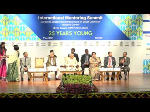 Exchange of MOUs at the International Mentoring Summit 2017