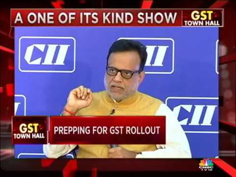 CII-CNBC Interactive Session with Dr Hasmukh Adhia, Revenue Secretary, Ministry of ...