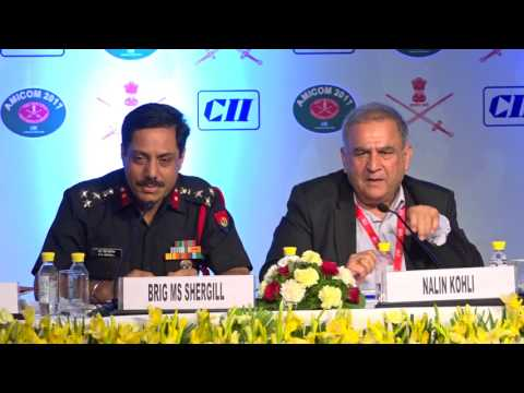 Interaction with the audience on Session IV: Promoting and Hand Holding MSMEs in Army's Revenue