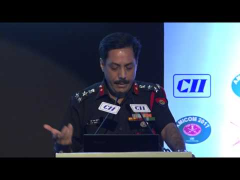 Address by Brig MS Shergill, Commandant, COD Agra, Indian Army
