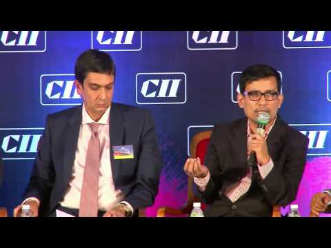 Interaction with the audience at Panel Discussion V: Manufacturing & Warehousing-The Rising Star of Indian Realty?