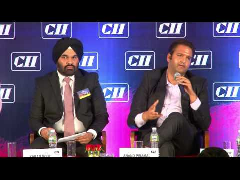 Interaction with the audience at the Panel Discussion II: Commercial Office: The Future of India Office Space