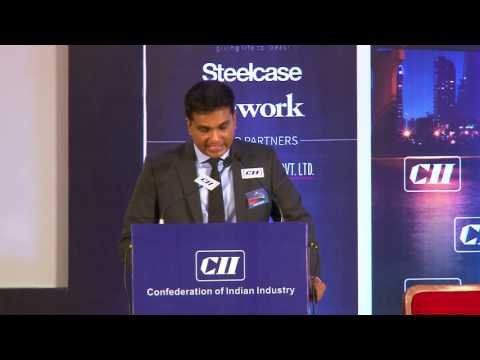 Welcome Address by Ramesh Nair, Chairman, CII Realty & Infrastructure Conclave and CEO & Country Head, JLL India