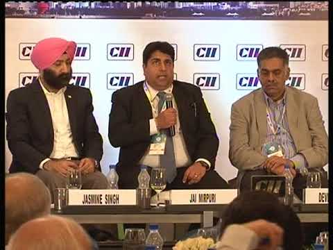 Interaction with the audience at Session IV: India's Logistics Market-Are we ready to ...