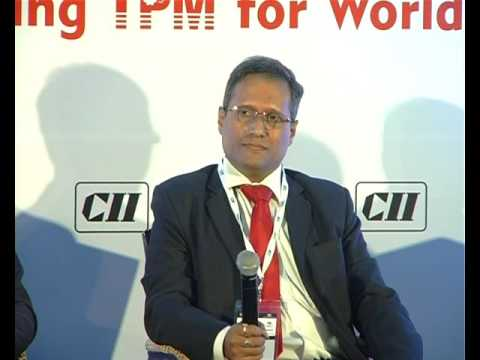 Interaction with the audience at Session 5: TPM is a 21st Century Business Tool and not mere Manufacturing Excellence