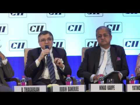 Address by Robin Banerjee, Convenor-CII Maharashtra Finance & Taxation Panel & MD, Caprihans India
