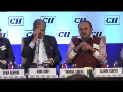Address by Yatindra R Sharma, Chairman, CII WR Task Force on Trade Fairs and MD, KHS Machinery Pvt Ltd.