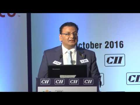 Welcome Address by Sudhir Mehta, Chairman, CII Western Region and Chairman & MD, Pinnacle Industries Ltd.