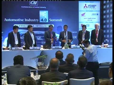 "Release of CII-Roland Berger Report - ""Automotive Industry 4.0"""