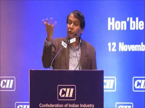 Address by Shri Suresh Prabhu, Hon'ble Minister of Commerce & Industry, Government of India