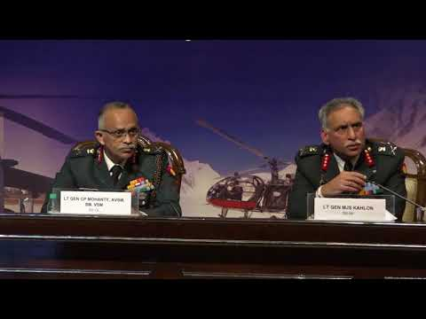 Military challenges in high altitude requiring technological solutions : Interaction with Senior Indian Army Officials
