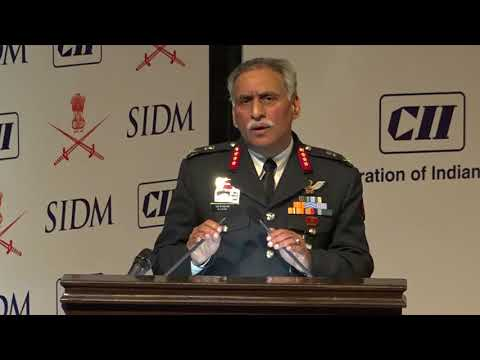 Challenges for operations by mechanised forces in high altitude by Lt. Gen MJS Kahlon, Director General (MF)