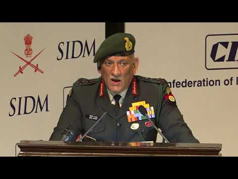 Technological challenges of prosecuting operations in high altitude by Gen Bipin Rawat, UYSM, AVSM, YSM, SM, VSM, ADC, Chief of the Army Staff