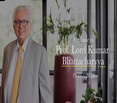 A Tall Leader of Manufacturing - a Tribute to Professor Lord Kumar Bhattacharyya