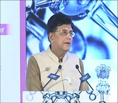 India has made a significant progress from 81 rank in 2015 to 52 in 2019 as revealed in the GII report of 2019 and that the culture of innovation is occupying the centre stage of Indian economy: Minister Piyush Goyal