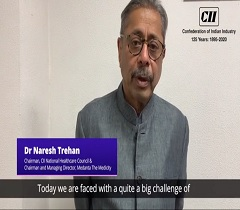 Dr Naresh Trehan, Chairman, CII Healthcare Council Shares His Views on How to Protect Oneself from COVID 19