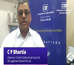 Follow Government Instructions to Combat COVID 19: C P Bhartia, Chairman, CII North Odisha Zonal Council