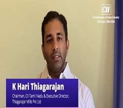 Containing the Spread of COVID 19 - Perspective by K Hari Thiagarajan, Chairman, CII Tamil Nadu