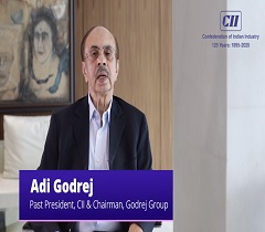 I Strongly Urge All Citizens and Organisations to Act with Utmost Seriousness and Prevent COVID 19: Adi Godrej, Past President, CII
