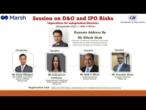 D&O and IPO Risks: Imperatives for Independent Directors