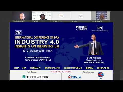 Session on Industry 4.0 Strategizing to Realizing Benefits – 2nd CII Int'l Conference on ...