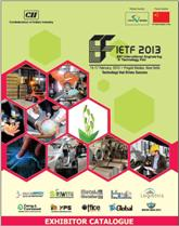 20th International Engineering & Technology Fair (IETF) 2013: Exhibitor Catalogue