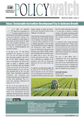 Agriculture Policy Watch: March 2013