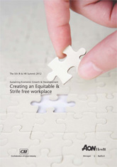 Sustaining Economic Growth & Development - Creating an Equitable & Strife Free Workplace