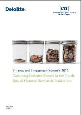 Finance & Investment Summit 2012: Catalysing Inclusive Growth in the North  (Role of Financial Services & Institutions)