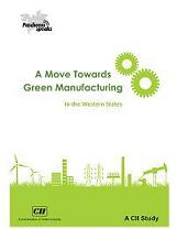 A Move Towards Green Manufacturing: in the Western States