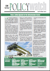 Infrastructure Sector Policy Watch: July 2013