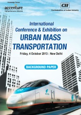 CII - Accenture Paper on Urban Mass Transportation in India