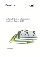 Status of Higher Education in Southern Region 2013